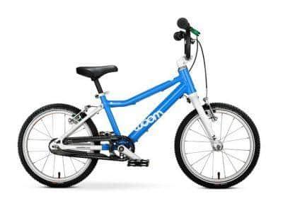 woom 3 kinderfiets lichtgewicht 16 inch handremmen eerste fiets blauw