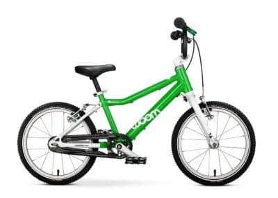 woom 3 kinderfiets lichtgewicht 16 inch handremmen eerste fiets groen