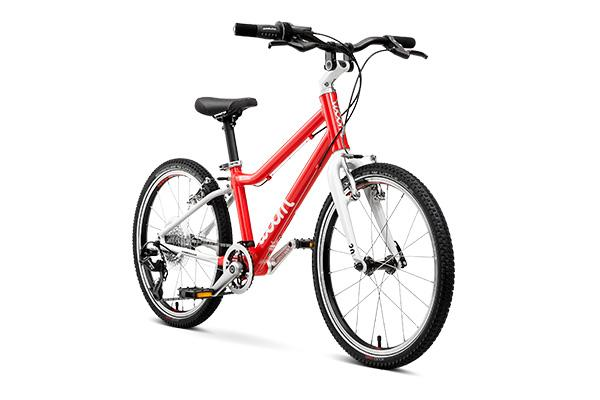 woom 4 rood lichtgewicht kinderfiets kindervakantie fiets fietsvakantie toerfiets schoolfiets fietsplezier 20 inch