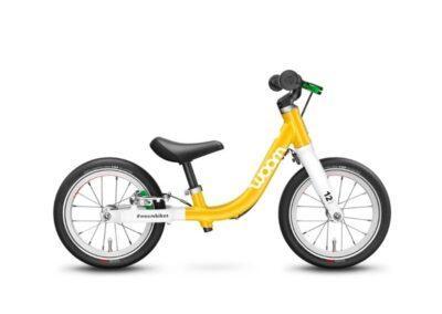 Woom 1 model 2021 geel deKleineSpaak