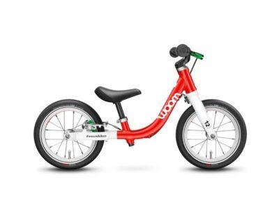 Woom 1 model 2021 rood deKleineSpaak