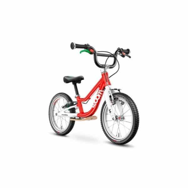 Woom 1 plus model 2021 rood deKleineSpaak