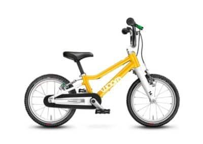 Woom 2 model 2021 geel deKleineSpaak