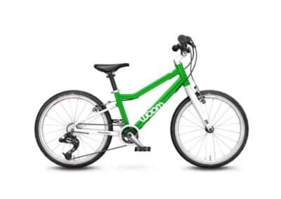 Woom 4 model 2021 groen deKleineSpaak