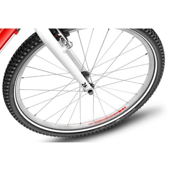 Woom 6 model 2021 band en wiel deKleineSpaak