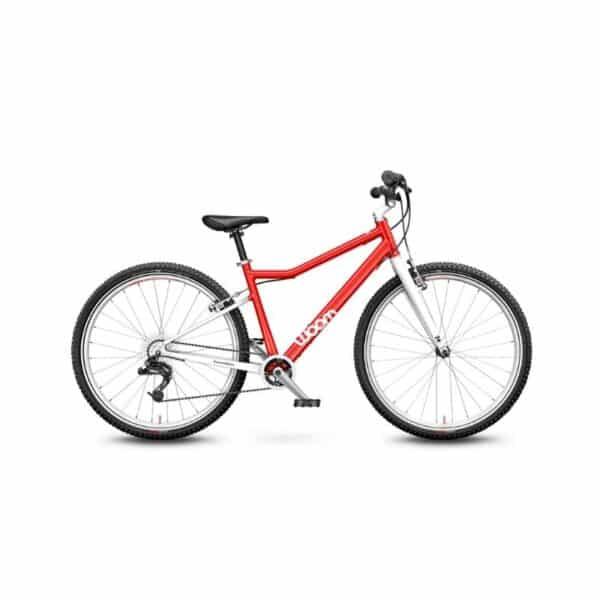 Woom 6 model 2021 rood deKleineSpaak