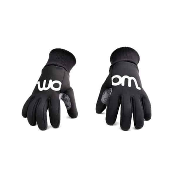 Woom Warm tens handschoen zwart kleine spaak