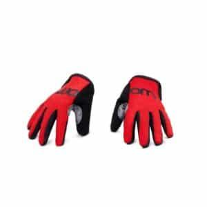 Woom tens handschoen rood kleine spaak