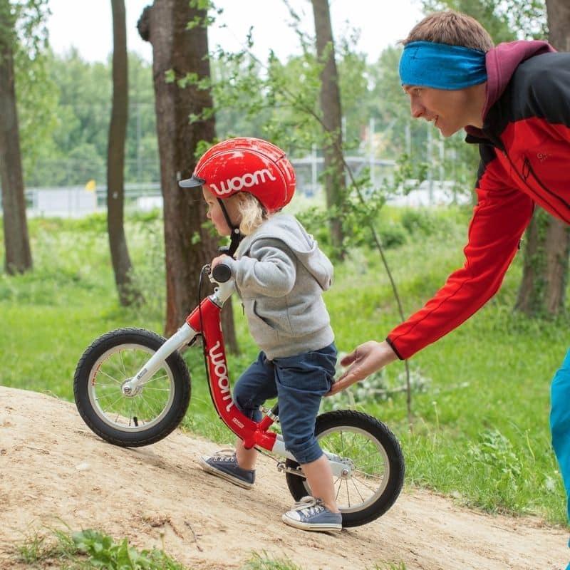 eerste fiets woom loopfiets