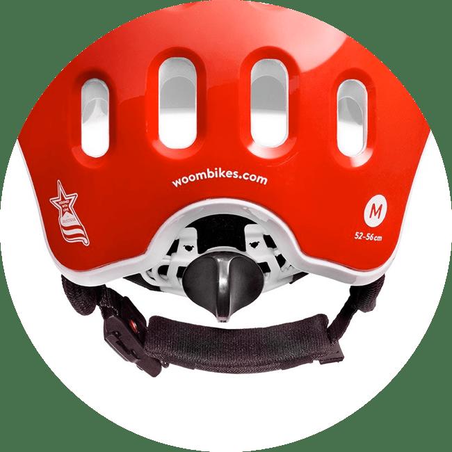 woom helm verstelbaar