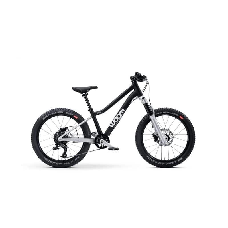 woom 2 kinderfiets lichtgewicht 14 inch handremmen eerste fiets kind fiets rood