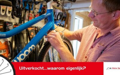 Waarom zijn er zo veel fietsen uitverkocht?