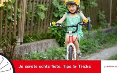 Je eerste echte fiets