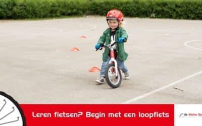 Leren fietsen? Begin met een loopfiets
